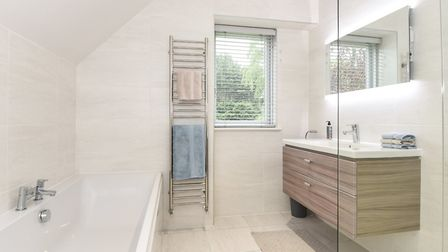 Bathroom in Pippin House.