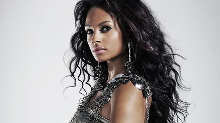A NUA student has one the chance to dress Alesha Dixon. Picture PA Photo/Handout.