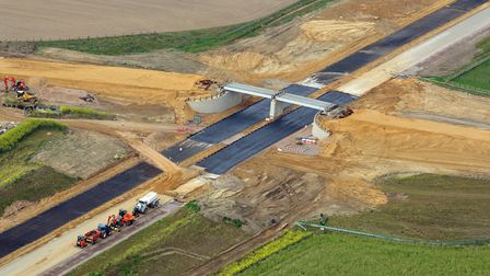 An aerial shot of the NDR. Photo: Mike Page