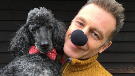 TV presenter Chris Packham is supporting Wetnose Day. Picture: Courtesy of Wetnose Animal Aid.