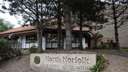The North Norfolk District Council (NNDC) offices in Cromer. Picture: ANTONY KELLY