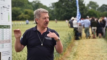 NIAB open day at Morley Farms. Bill Clark, technical director at NIAB. Picture : ANTONY KELLY