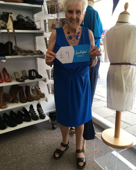 The Sue Ryder charity shop in Riverside Walk, Thetford has reopened. Picture: SUE RYDER