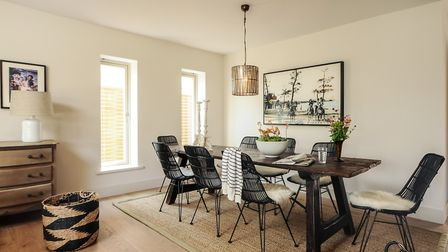 Dining area in the property.