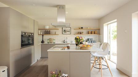 The property's kitchen.