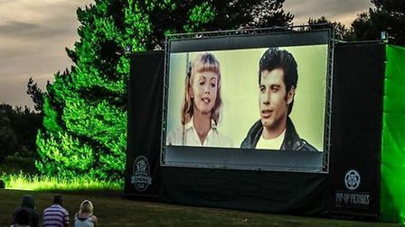 Grease is a popular choice among outdoor cinema goers. Picture: Music Art Study