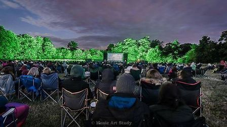 One of the Pop Up Pictures' Great Outdoor Cinema Club screenings from last year. Picture: Music Arts