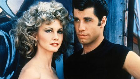 Pink Ladies and T Birds will be on screen with Grease, starring Fohn Travolta and Olivia Newton. Pic