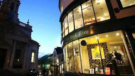 The Book Hive on London Street in Norwich. Picture: submitted