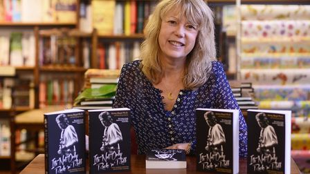 Dr Jenny Boyd was signing copies of her new book at Ceres Bookshop in Swaffham. Picture: Ian Burt