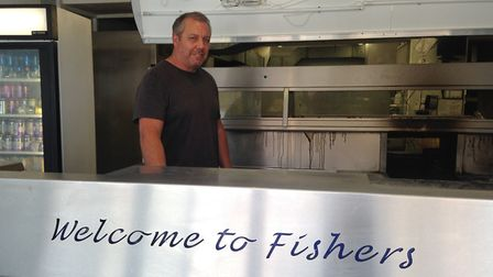 Fishers of Hunstanton owner, Mark Wilson, said the takeaway shop will be closed for two weeks as a r
