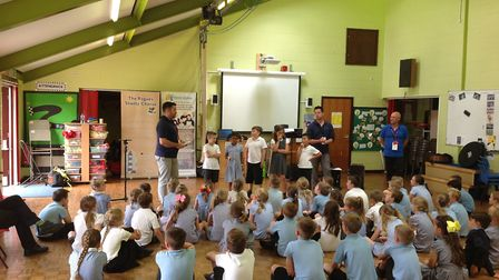 """A sea shanty day at Blundeston CEVCP School was hailed as a """"fantastic"""" success. The Voice cLoud mem"""