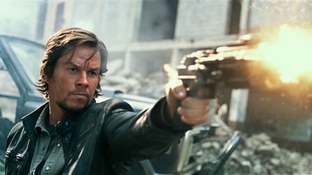 Transformers: The Last Knight with Mark Wahlberg as Cade Yeager. Picture: Paramount Pictures/Hasbro