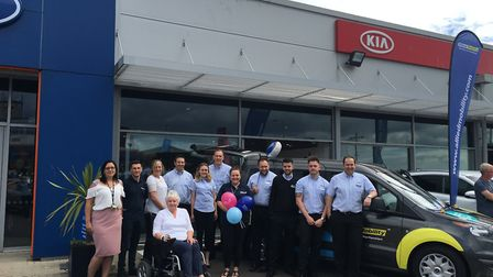 John Grose held a Motability awareness day at its Lowestoft showrooms to highlight the benefits of t