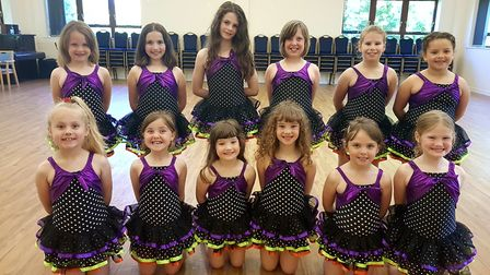 Youngsters from Southwold's Bojangles Dance for Children will take part in a performance on London's
