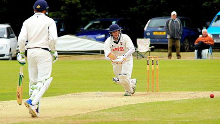 Norfolk followed Hertfordshire's lead as they piled up the runs. Picture: Tim Ferley