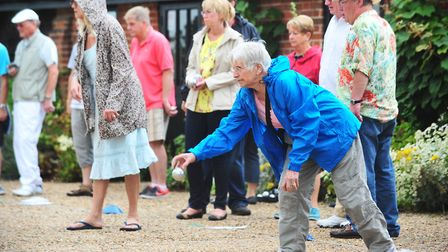 A previous boules tournament organised by the village of St Peter South Elmham. Picture: Nick Butche
