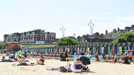 Lowestoft's busy seafront during the summer. Picture: Archant Library.