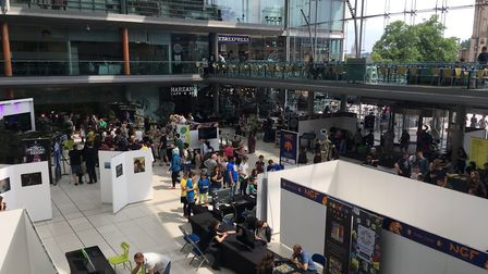 The Norwich Gaming Festival 2017. Picture: Marc Betts