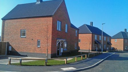 How do you like these new homes at Wood View, North Walsham? Picture: Lloyds Bank Commercial Housing