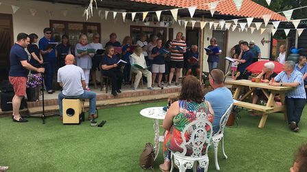 Henstead Arts and Crafts Centre celebrated its 10th anniversary over the weekend. Photo: Amanda Baxt