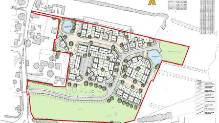 A plan of the proposed Loddon development Picture: Courtesy Allison Homes