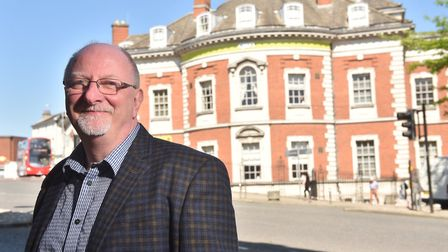 Chief executive officer John Gordon-Saker reveals plans for expansion at OPEN Norwich. Picture : ANT
