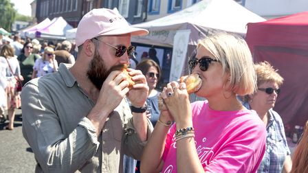 Beccles Food and Drink Festival. Photo: Dominic's Photography.