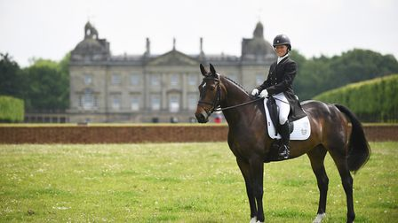 Houghton Hall provides the perfect backdrop for the event. Picture: Ian Burt