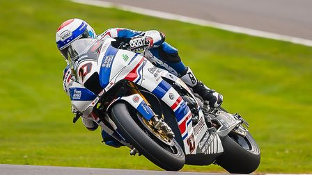 Jake Dixon claimed his first World Championship points at Donington Park. Picture: Barry Clay