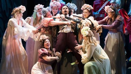 English Touring Opera's production of Gilbert and Sullivan's Patience is coming to Norwich Theatre R