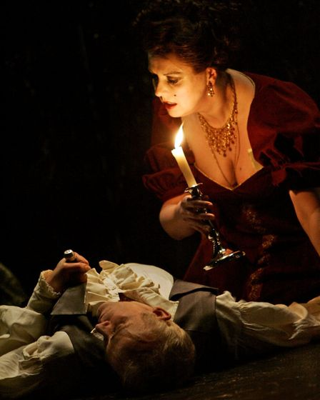 English Touring Opera production ofToscaby Puccinidirected by Tim Carroll. Picture: Keith Patt