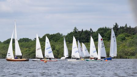 Action from Horning Sailing Club at the weekend. Picture: Colin Galloway