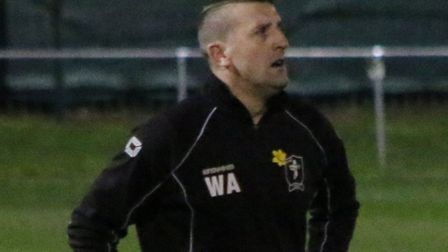 Wayne Anderson will be assistant to Neal Simmons at Dereham Town next season. Picture: Tony Miles