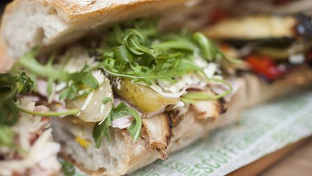 A sandwich from The Feed Market Stall in Norwich. Photo: The Feed.