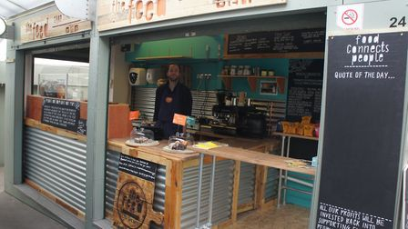 The Feed market stall in Norwich is serving up delicious homemade food, with profits being ploughed