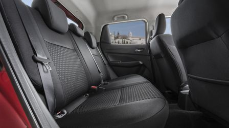 There's enough legroom in the back of the Suzuki Swift for adults. Picture: Suzuki