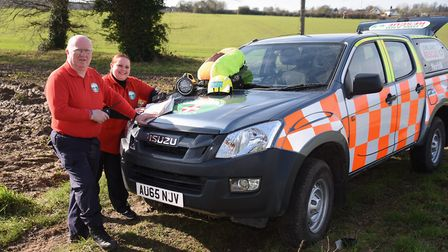 Norfolk Lowland Search and Rescue. Picture: DENISE BRADLEY