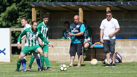 TheGary Knights second annual memorial match at Caxton Meadow. Picture: Shirley Whitlow.