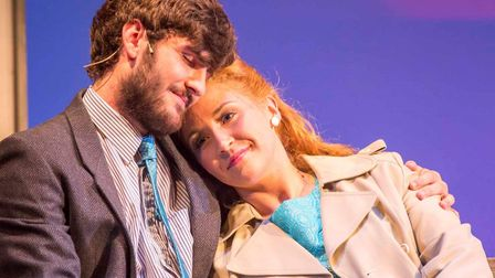 Annabelle Culley and Josh Hinds as Rita and Eddie O'Grady in Made in Dagenham, performed by CSODS. P