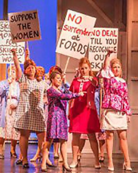 The Cromer and Sheringham Amateur Operatic and Dramatic Society stage Made in Dagenham at the Pavili