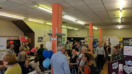 Trevor Saunders organised the Great Yarmouth Care Working Together event at the Acorn Centre. Photo: