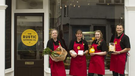 The Rustic Catering Company opens the Fine Foods store in Harleston. Picture: HANNAH SETFORD