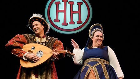 The Horrible Histories crew brings Best of Barmy Britain to King's Lynn Corn Exchange. Picture: Subm