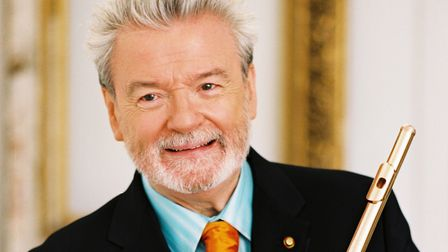 Sir James Galway appeared in Bury St Edmunds. Picture Archant Library.