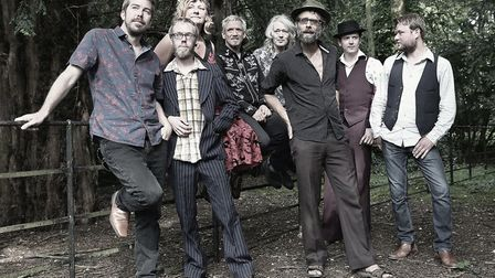 Norwich eight-piece The Vagaband who cite The Beatles and Sgt Pepper specifically as an influence. P