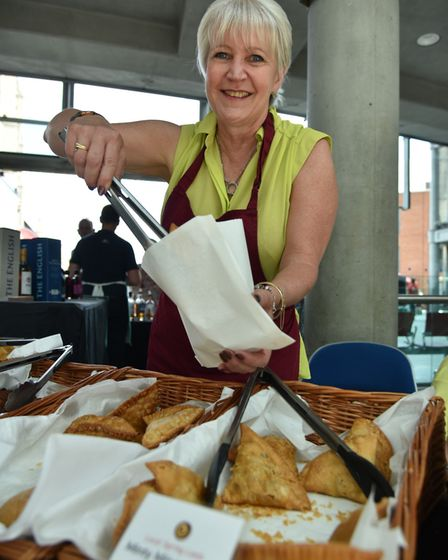 The Norwich Food Festival Debbie Baxter from Ethnic Fusion Byline: Sonya Duncan Copyright: Archant 2