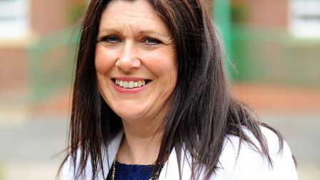 North Denes headteacher Debbie Whiting who supports a bid for a new school in north Yarmouth. Pict