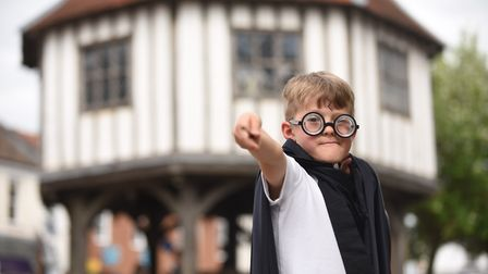 Launch of the Wymondham Carnival. Pictured is Tobias (6). Picture: Ian Burt
