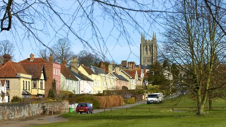 Long Melford. Picture: ARCHANT LIBRARY